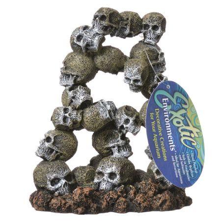 Blue Ribbon Pet Products Exotic Environments Skull Archway Aquarium Ornament
