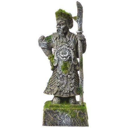 Blue Ribbon Pet Products Exotic Environments Thai Warrior Statue with Moss Aquarium Ornament