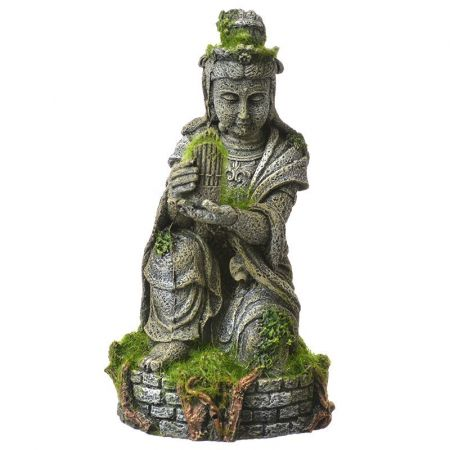 Blue Ribbon Pet Products Exotic Environments Ancient Buddha Statue with Moss Aquarium Ornament