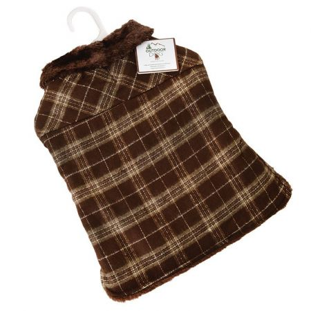 Fashion Pet Outdoor Dog Country Plaid Dog Coat