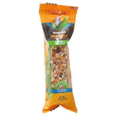 Vitakraft Sunseed Grainola Parrot Treat Bar - Harvest Crunch