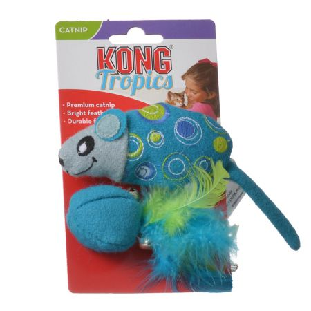 Kong Kong Tropics Mouse and Ball Cat Toy with Catnip
