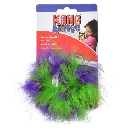 Kong Kong Twisted Boa Puff Cat Toy
