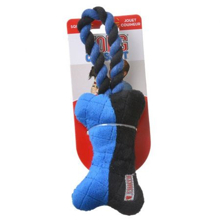 Kong Kong Crossbit Bone with Rope Dog Toy