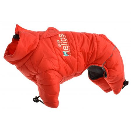 Pet Life Dog Helios Red Thunder-Crackle Dog Snow Coat