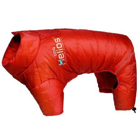 Pet Life Dog Helios Red Thunder-Crackle Dog Snow Coat