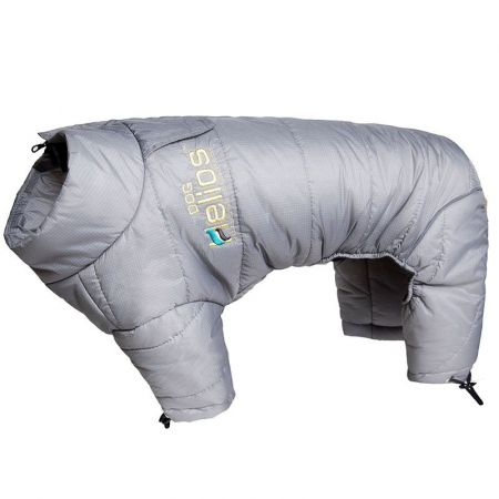 Pet Life Dog Helios Grey Thunder-Crackle Dog Snow Coat