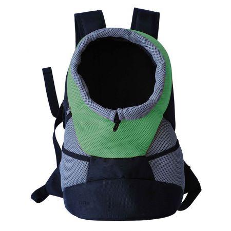 Pet Life On-The-Go Supreme Travel Bark-Pack Green Backpack Pet Carrier alternate view 1