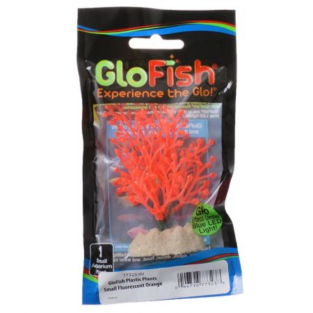GloFish GloFish Orange Aquarium Plant