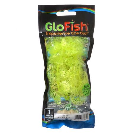 GloFish Yellow Aquarium Plant alternate view 2