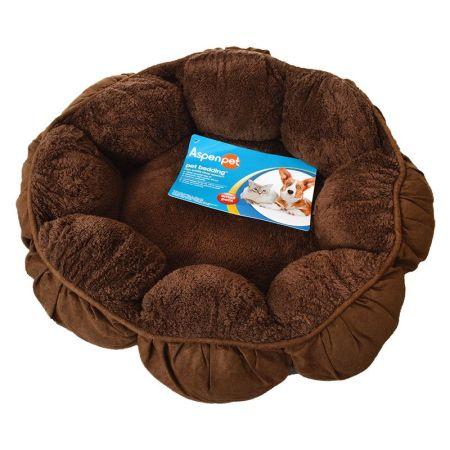 Aspen Pet Puffy Round Cat Bed alternate view 1