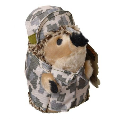 Petmate Petmate Heggies Plush Dog Toy - Army