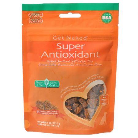 Get Naked Get Naked Super Antioxidant Soft Dog Treats - Chicken Flavor