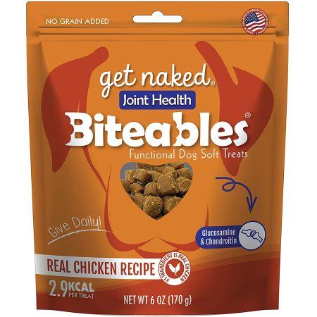 Get Naked Get Naked Joint Health Soft Dog Treats - Chicken Flavor