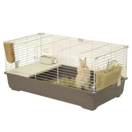 Marchioro Products Marchioro Tommy C Guinea Pig & Rabbit Cage - Brown