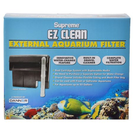 Supreme Supreme EZ Clean External Aquarium Filter
