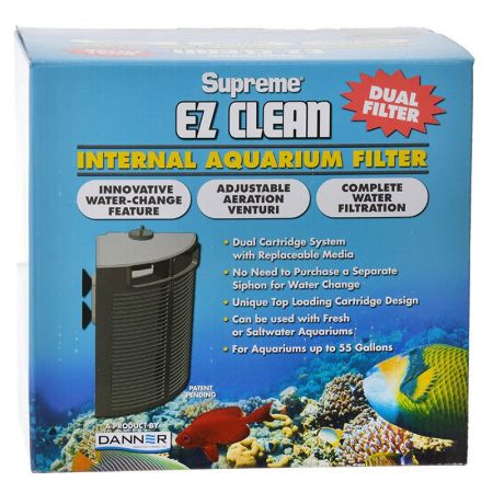 Supreme Supreme EZ Clean Dual Cartridge Internal Aquarium Filter