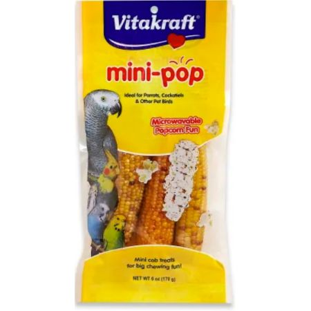 Vitakraft Mini-Pop Corn Treat for Pet Birds