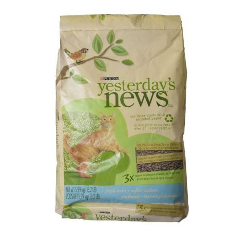 Purina Purina Yesterday's News Soft Texture Cat Litter - Fresh Scent