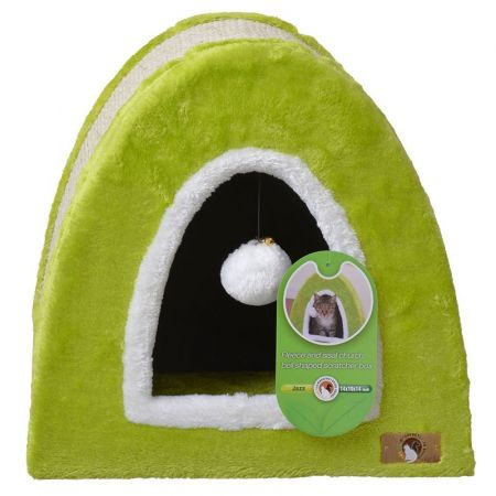 Pet Pals Pet Pals Bell Fleece and Sisal Scratcher