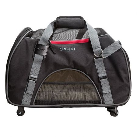 Bergan Bergan Wheeled Comfort Carrier - Black