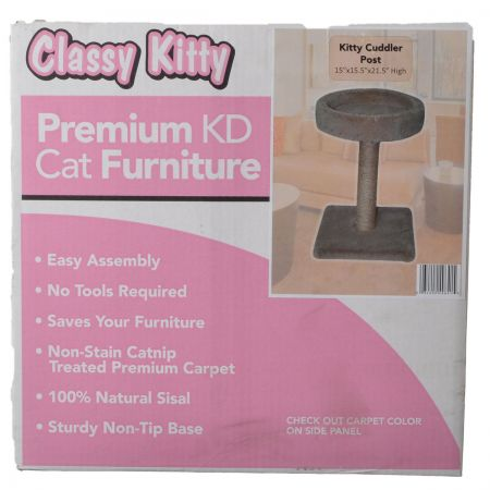 North American Pet Products Classy Kitty Cuddler Post