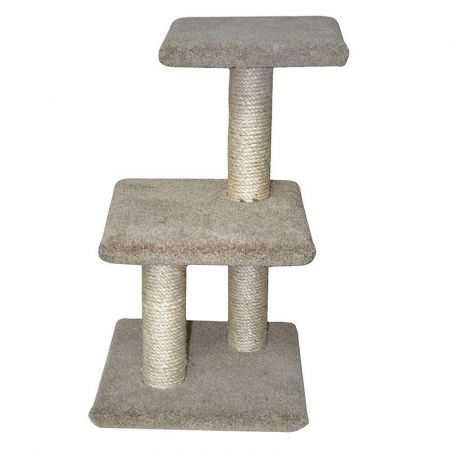 North American Pet Products Classy Kitty 2-Tier Tree with Lounger