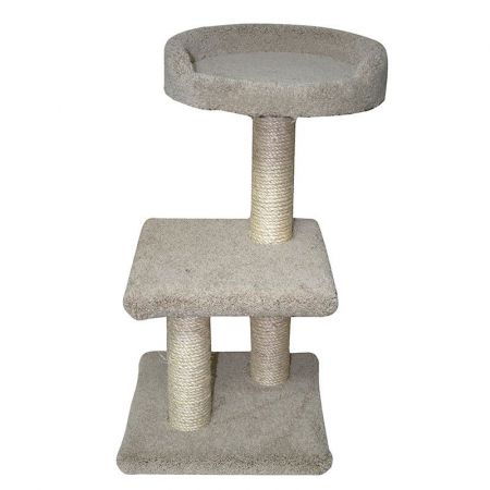 North American Pet Products Classy Kitty 2-Tier Tree with Bed