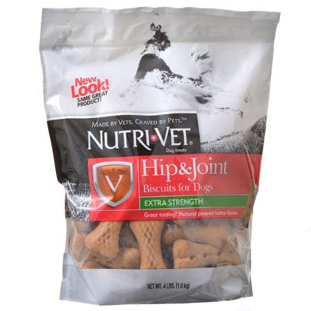 Nutri-Vet Nutri-Vet Hip & Joint Biscuits for Dogs - Extra Strength