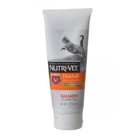 Nutri-Vet Nutri-Vet Hairball Paw-Gel for Cats - Salmon Flavor