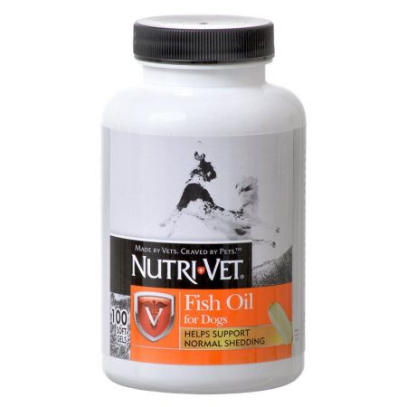 Nutri-Vet Nutri-Vet Fish Oil Softgels for Dogs