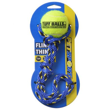 Petsport Tuff Ball Fling Thing Dog Toy alternate view 1