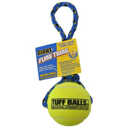 Petsport Tuff Ball Fling Thing Dog Toy alternate view 2