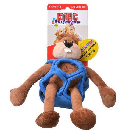 Kong Kong Puzzlements Beaver Dog Toy