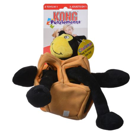 Kong Kong Puzzlements Bee Dog Toy