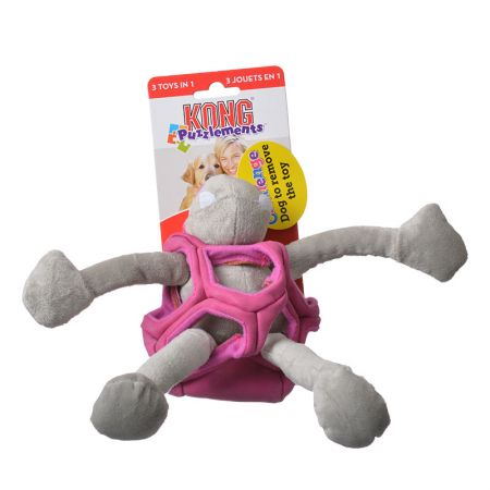 Kong Kong Puzzlements Hippo Dog Toy