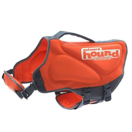Outward Hound Outward Hound Pupsaver Neoprene Dog Life Vest - Orange