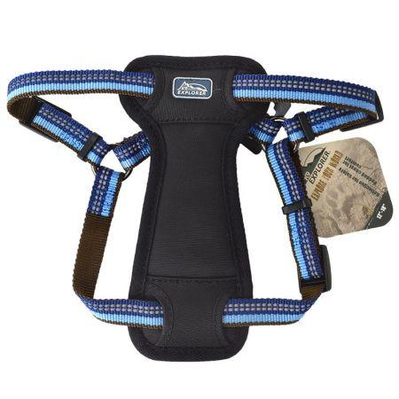 Coastal Pet K9 Explorer Sapphire Reflective Adjustable Padded Dog Harness