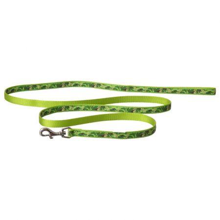 Coastal Pet Pet Attire Ribbon Lime Camouflage Nylon Dog Leash