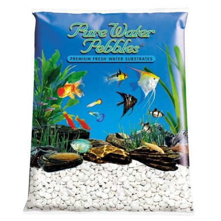Pure Water Pebbles Pure Water Pebbles Aquarium Gravel - Snow White