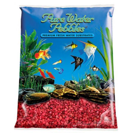 Pure Water Pebbles Pure Water Pebbles Aquarium Gravel - Currant Red