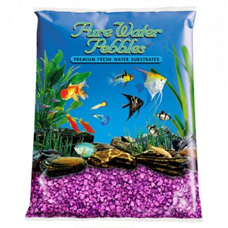 Pure Water Pebbles Pure Water Pebbles Aquarium Gravel - Purple Passion