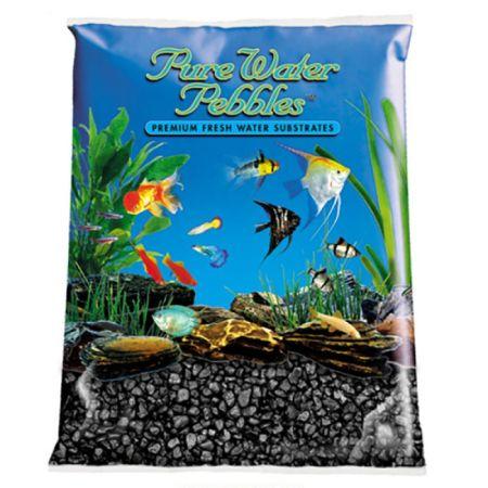 Pure Water Pebbles Pure Water Pebbles Aquarium Gravel - Jet Black