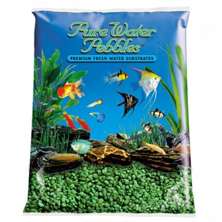 Pure Water Pebbles Pure Water Pebbles Aquarium Gravel - Emerald Green