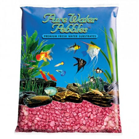 Pure Water Pebbles Pure Water Pebbles Aquarium Gravel - Red Frost