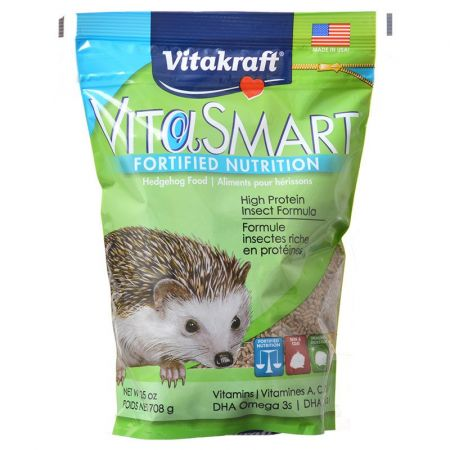 Vitakraft Vitakraft VitaSmart Hedgehog Food - High Protein Insect Formula