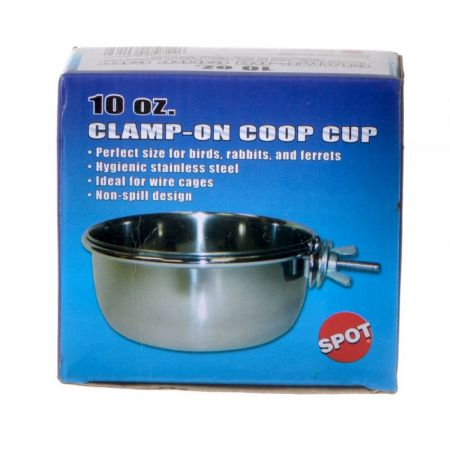 Spot Spot Stainless Steel Coop Cup with Bolt Clamp