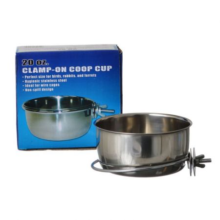 Spot Stainless Steel Coop Cup with Bolt Clamp alternate view 2