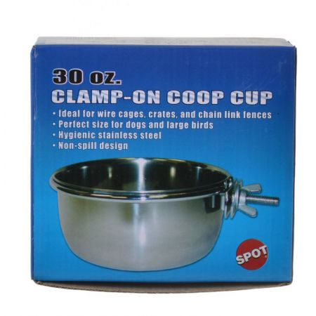 Spot Stainless Steel Coop Cup with Bolt Clamp alternate view 3