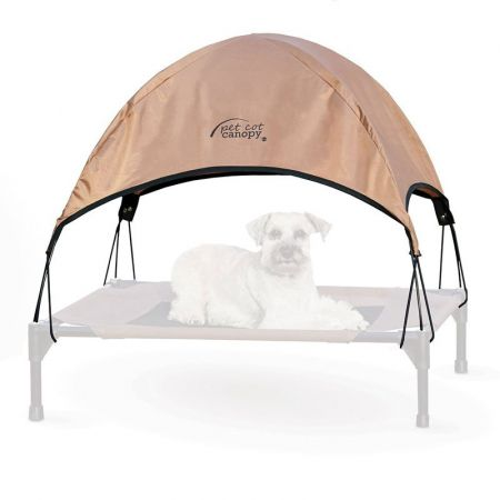 K&H Pet Products K&H Pet Cot Canopy - Tan